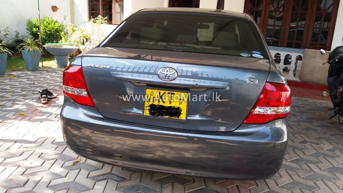 Image of Toyota NZE 141 axio 2010 Car - For Sale