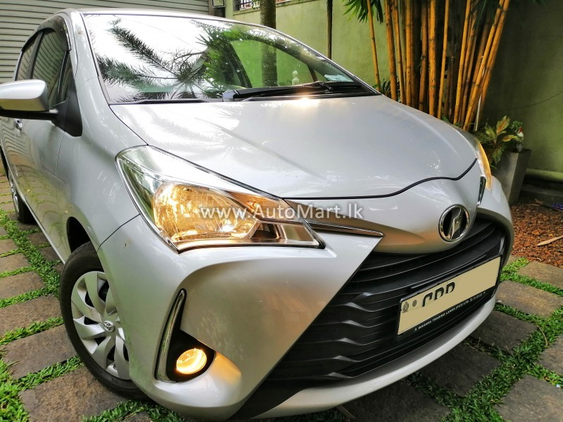Image of Toyota Vitz Push Multi Safety 2 New version 2018 Car - For Sale