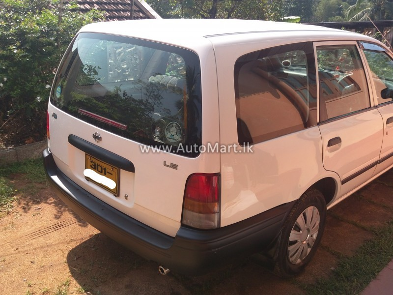Image of Nissan AD WAGON WFY-10 LE 1996 Car - For Sale