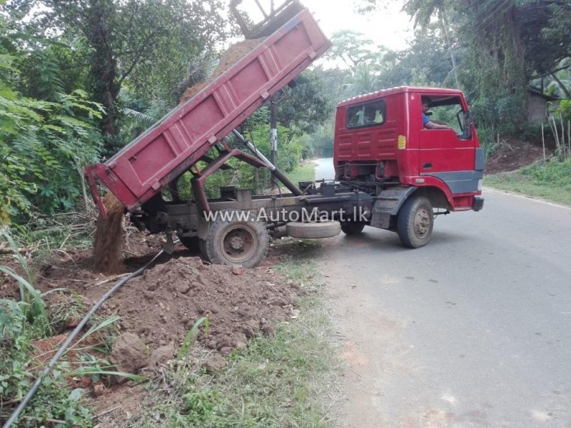 Image of Tata 407 Dump Truck Tipper 2012 Lorry - For Sale
