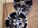 14  INCH ALLOY WHEELS 100PCD 4 HOLES