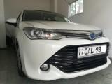 Toyota Axio 2015 G Grade pearl white 2015 Car
