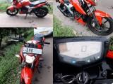 TVS Apache 2018 Motorcycle