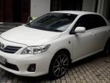 Toyota Corolla 141 XLI 2012 Car