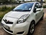 Toyota Vitz, P white, New Shell 2007 Car