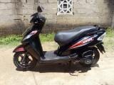 TVS Wego 2015 Motorcycle