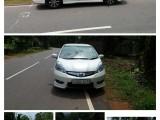 Honda Honda fit shuttle 2013 Car