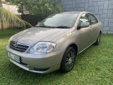 Toyota Corolla 121 Brand New Imported 2001 Car