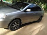 Toyota Corolla 121 G grade 1500cc 2003 2000 Car