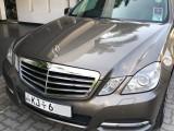 Mercedes Benz E200 2010 Car