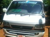 Toyota High Roof Super Long 1992 Van
