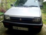 Suzuki Maruti 2011 Car