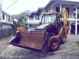 CAT 428D  Excavation