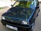 Suzuki Maruti 2010 Car