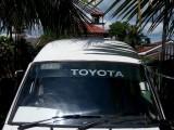 Toyota Shell High Roof Long 1983 Van