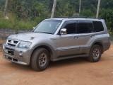 Mitsubishi Montero 2002 Jeep