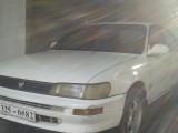 Toyota Corolla 101 white light model 1993 Car