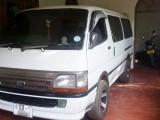 Toyota Dolphin Hiace 1990 Van