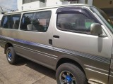 Toyota HIACE van for rent